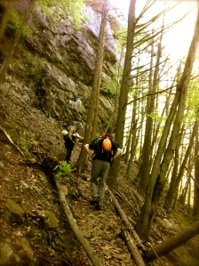 hike into Pinnacle Rock