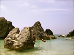 Bermuda has sharp, but fun bouldering