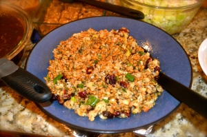 Waldorf Wheat Berry Salad