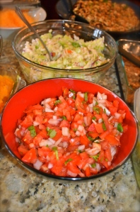 my homemade pico de gallo