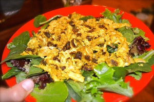chicken salad, recipe from Whole Foods iphone app
