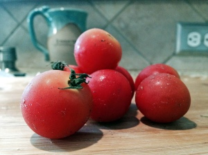 oversized grape tomatoes