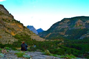 Me sulking nature, views...post an amazing & hard climbing day in Spain over 1.5 years ago.