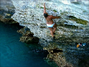 I never knew this side of Bermuda until climbing showed me.